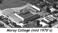 Moray College in the 1970s