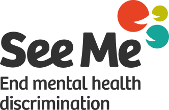 See me - end mental health discrimination (logo)